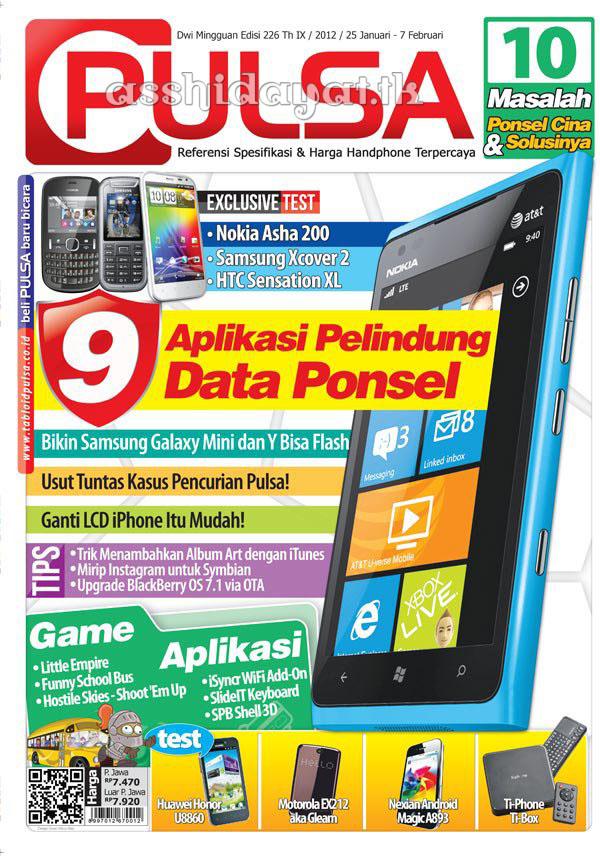 Tabloid PULSA Edisi 226 Tahun IX / 2011 - 2012 / 25 Januari - 7