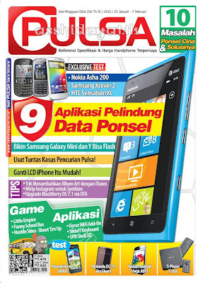 Tabloid PULSA Edisi 226 Tahun IX / 2011 - 2012 / 25 Januari - 7