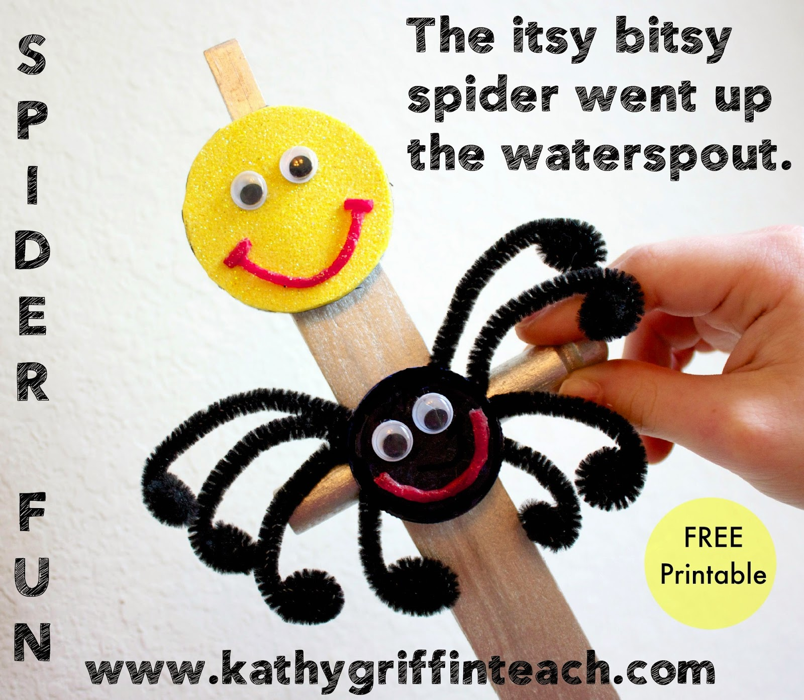 photograph regarding Itsy Bitsy Spider Printable referred to as Kathy Griffins Instruction Tips: Itsy Bitsy Spider