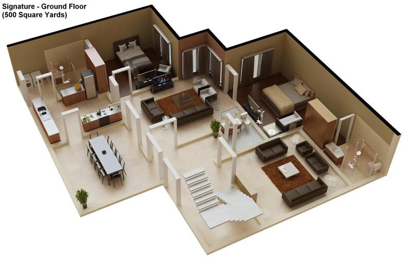 Select Your House Design And Get Your House Map With In A