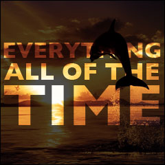 Everything All Of The Time: The Meaning of Life:  The History Of The Universe, The Meaning Of Life, The Future Of The Human Race, And All The Stuff In Between