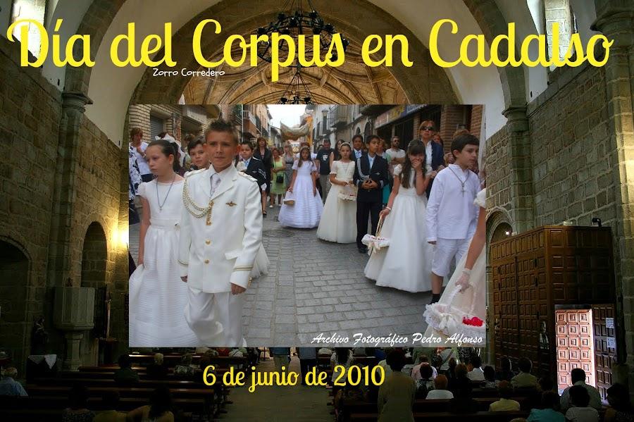 Día del Corpus en Cadalso