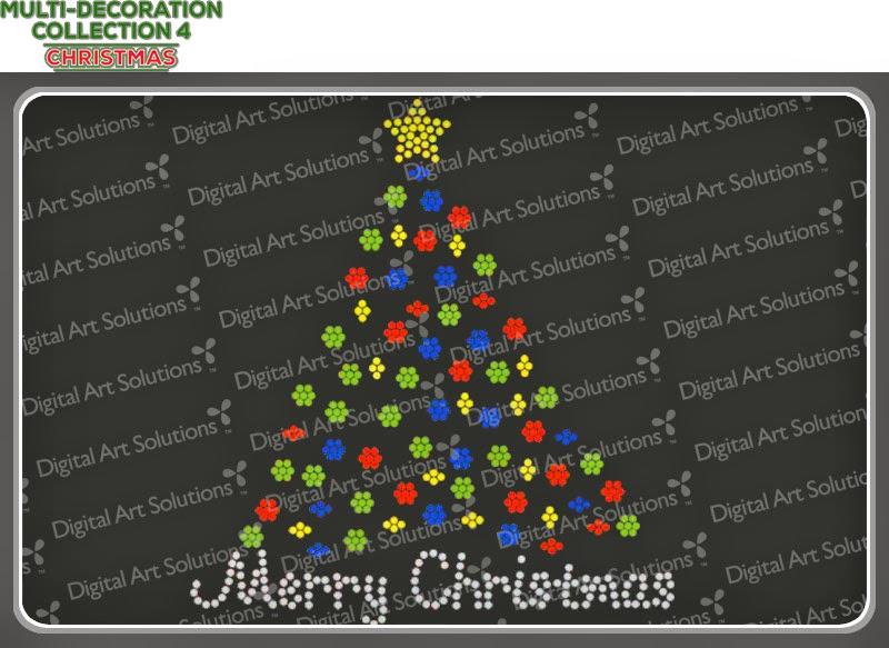 Christmas Tree Rhinestones