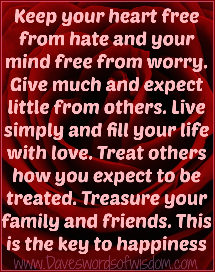 Free Your Mind Quotes Daveswordsofwisdom The Key To A Happy Life