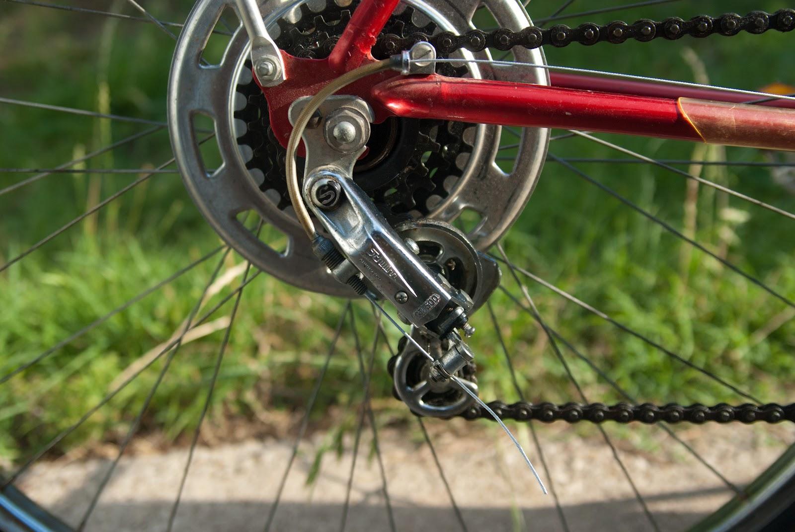 Schwinn Derailleur Parts : Schwinn varsity derailleur bikewrench