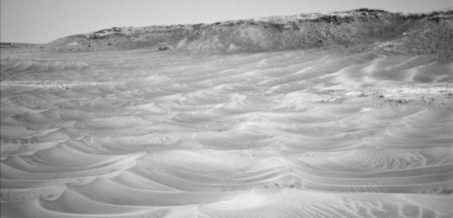 Dunas causadas por el viento en Marte fueron fotografiadas por Curiosity