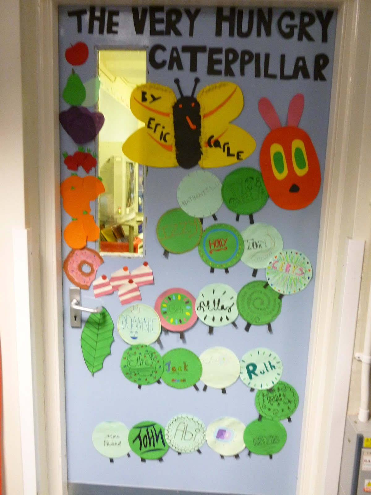 Our Lady S Abingdon Library News Decorated Doors For