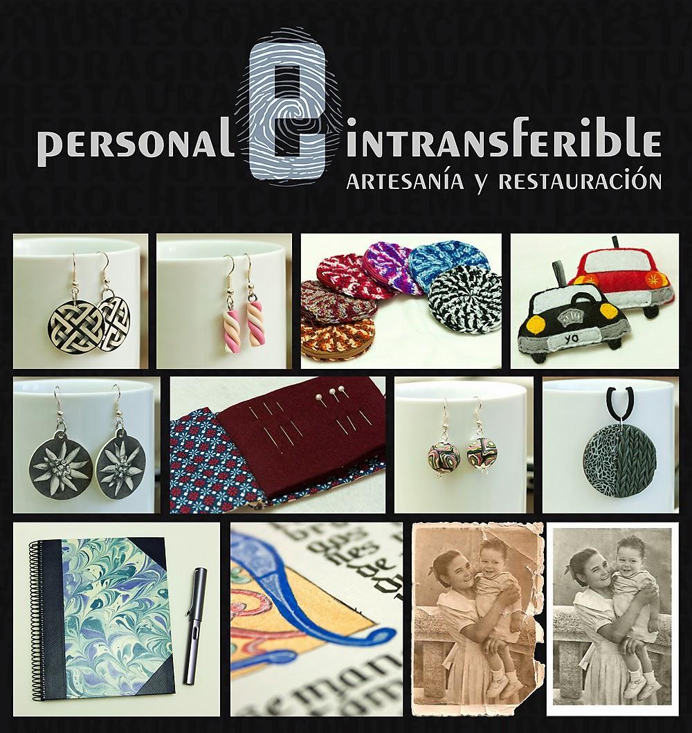 Mi Otro yo <br> Personal e Intransferible