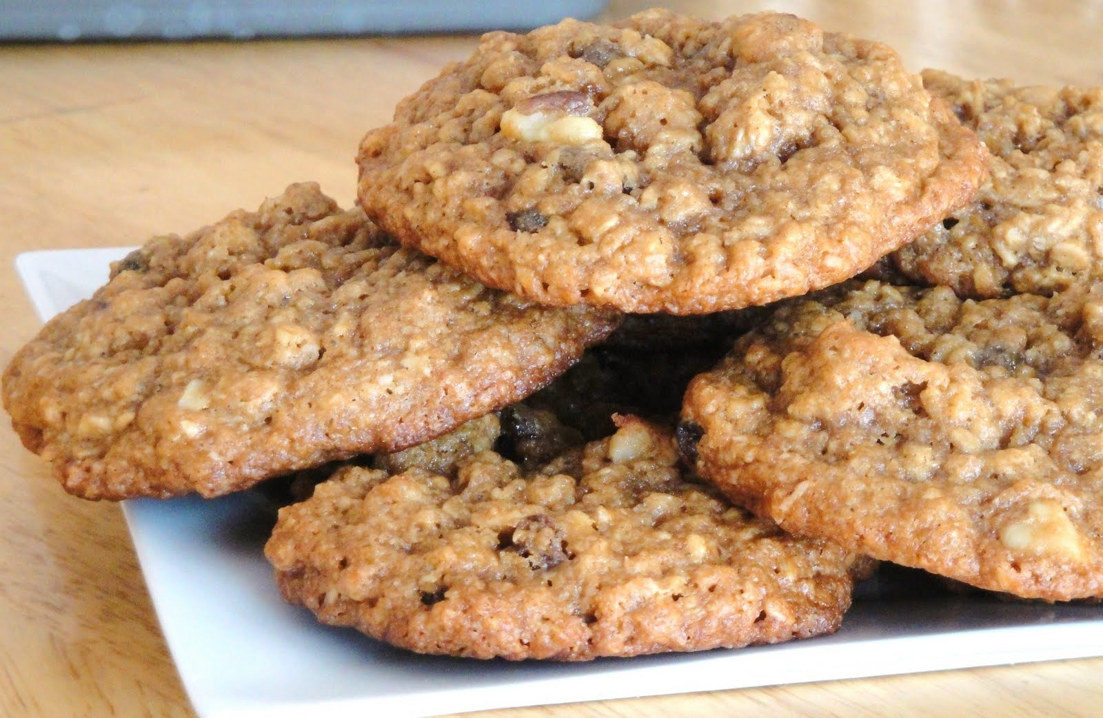 """""""Baked"""" Oatmeal Cookies With Cardamom Recipe — Dishmaps"""