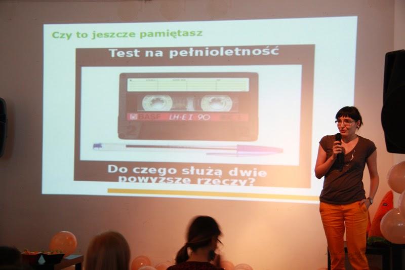 urodzinowe spotkanie Geek Girls Carrots Łódź, prelekcja, wystapienie kobiety, 6 dzielnica