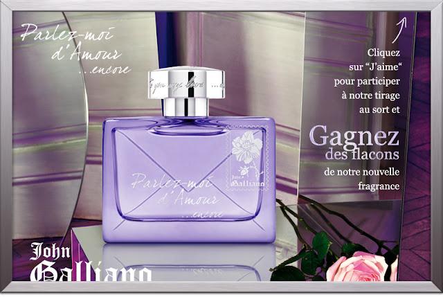 50 parfums Parlez-moi d'amour à gagner