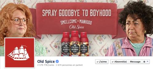 Old Spice: c'est quoi tes pubs merdiques?