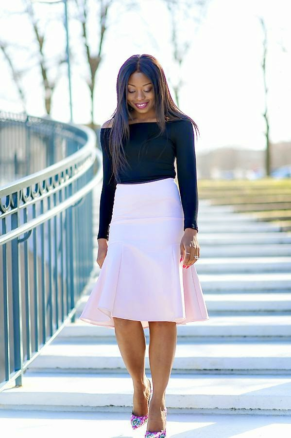 Warehouse Bonded Skirt