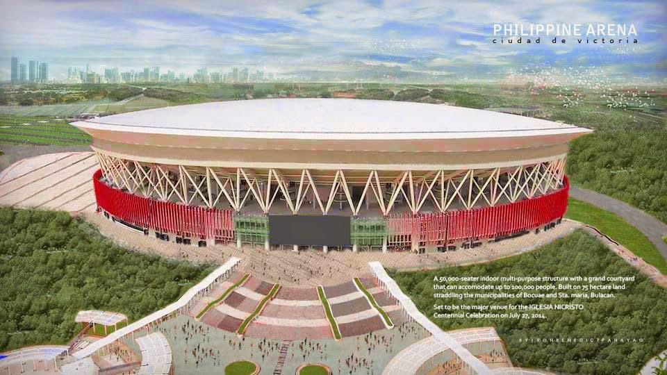 Philippine Arena Ciudad de Victoria