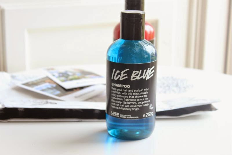 Lush Ice Blue Shampoo
