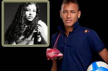 Neymar com Bola e Chuteira