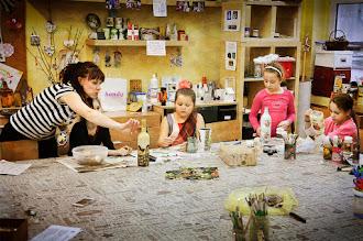 Pracownia Decoupage dla dzieci i młodzieży w MDK Fabryczna Wrocław