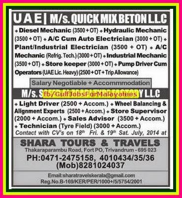 quick mix beton llc uae job vacancies free accommodation gulf jobs for malayalees. Black Bedroom Furniture Sets. Home Design Ideas