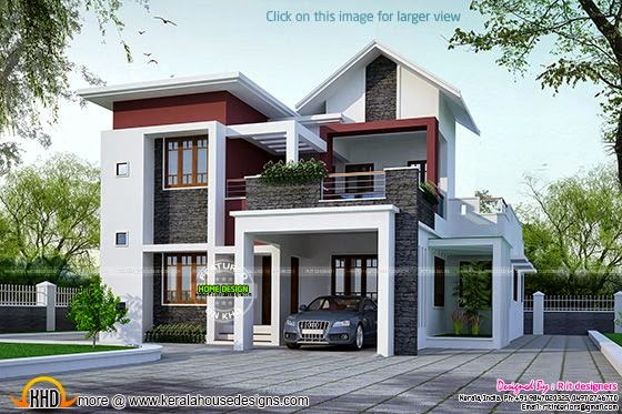 4 bedroom modern mix home