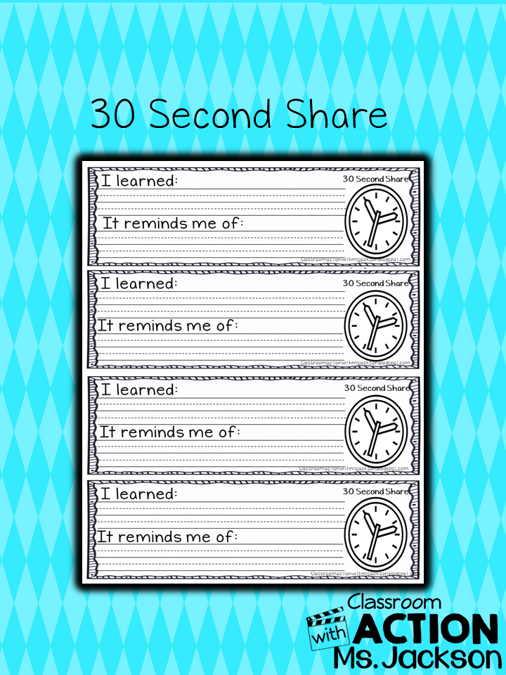 https://www.teacherspayteachers.com/Product/30-Second-Quick-Share-Ticket-1671818