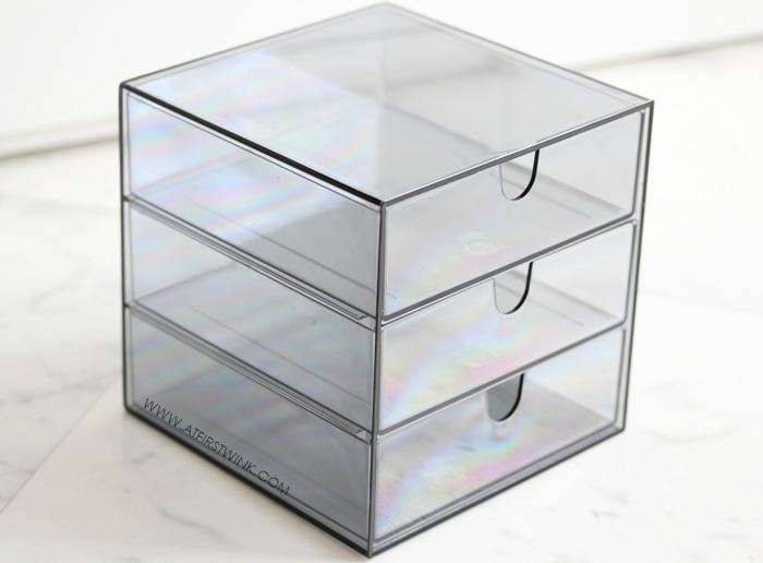 Palaset acrylic cosmetics storage case