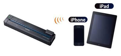 Mobilna drukarka termiczna PocketJet  firmy Brother PJ-673