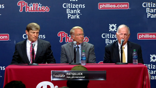 John Middleton, Andy MacPhail, Pat Gallic June 29, 2015 Phillies