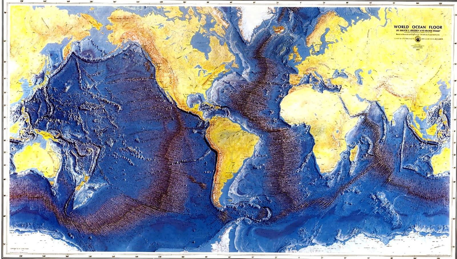 Mediterranean Sea Underwater Cities