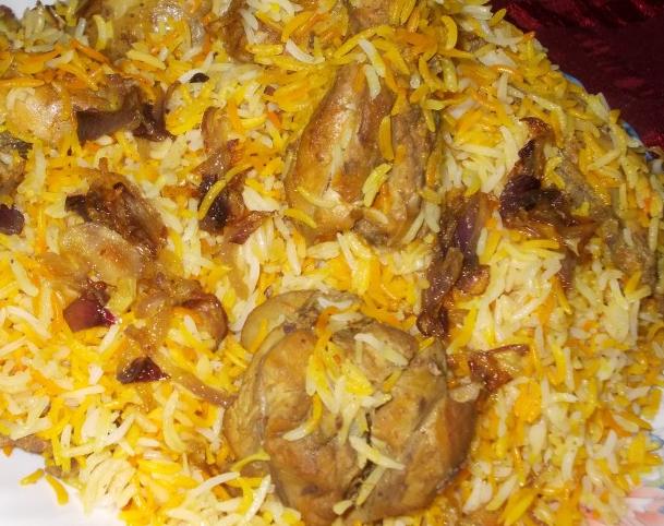 Chicken biryani muslim style - photo#12