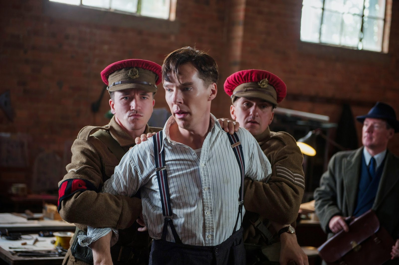 Benedict Cumberbatch Imitation Game