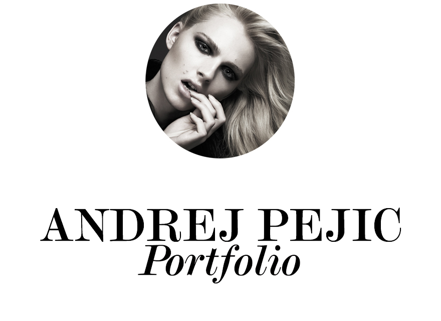 Andrej Pejic Portfolio