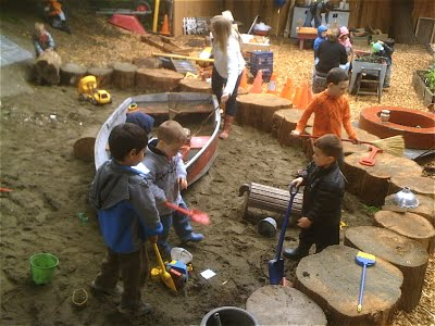 The learning landscape natural play in montessori settings - Natural playgrounds for children ...