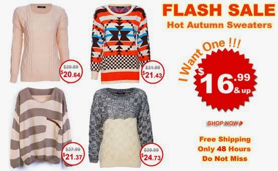 Romwe Super slim price flash sale!  Only 48 hours!