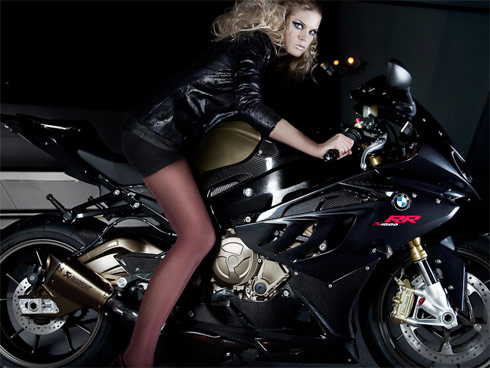 Auto Car Pass Hot Girl Bmw S1000rr 20
