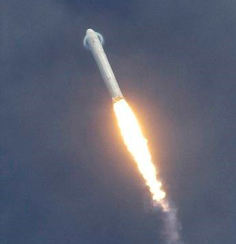 Commercial rocket to international space station