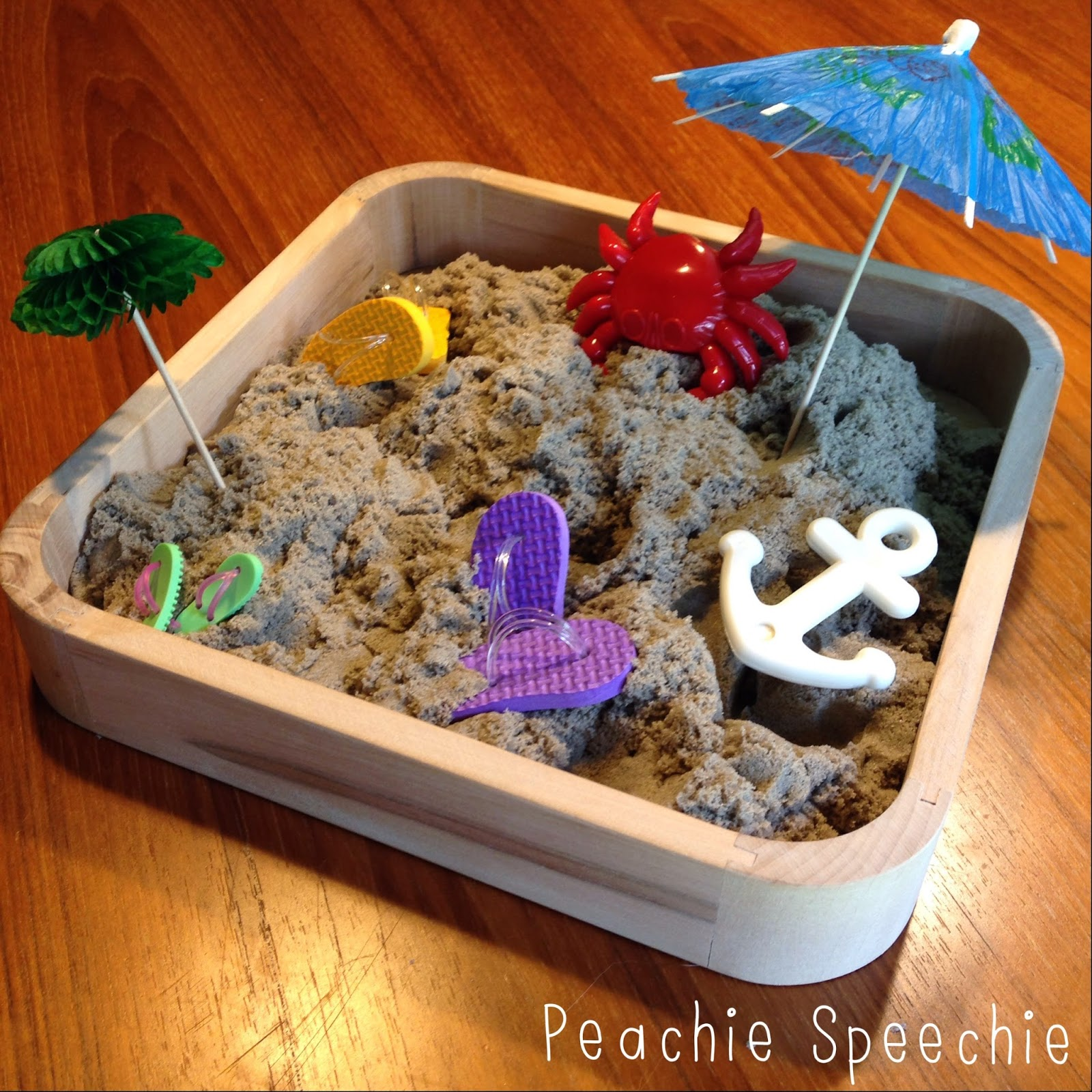 Kinetic Sand in Speech Therapy