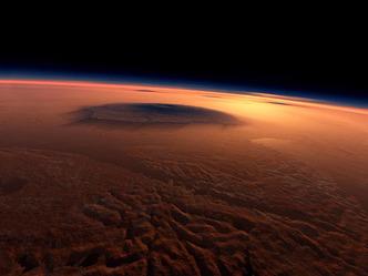 मंगल पर है अम्लीय कोहरा