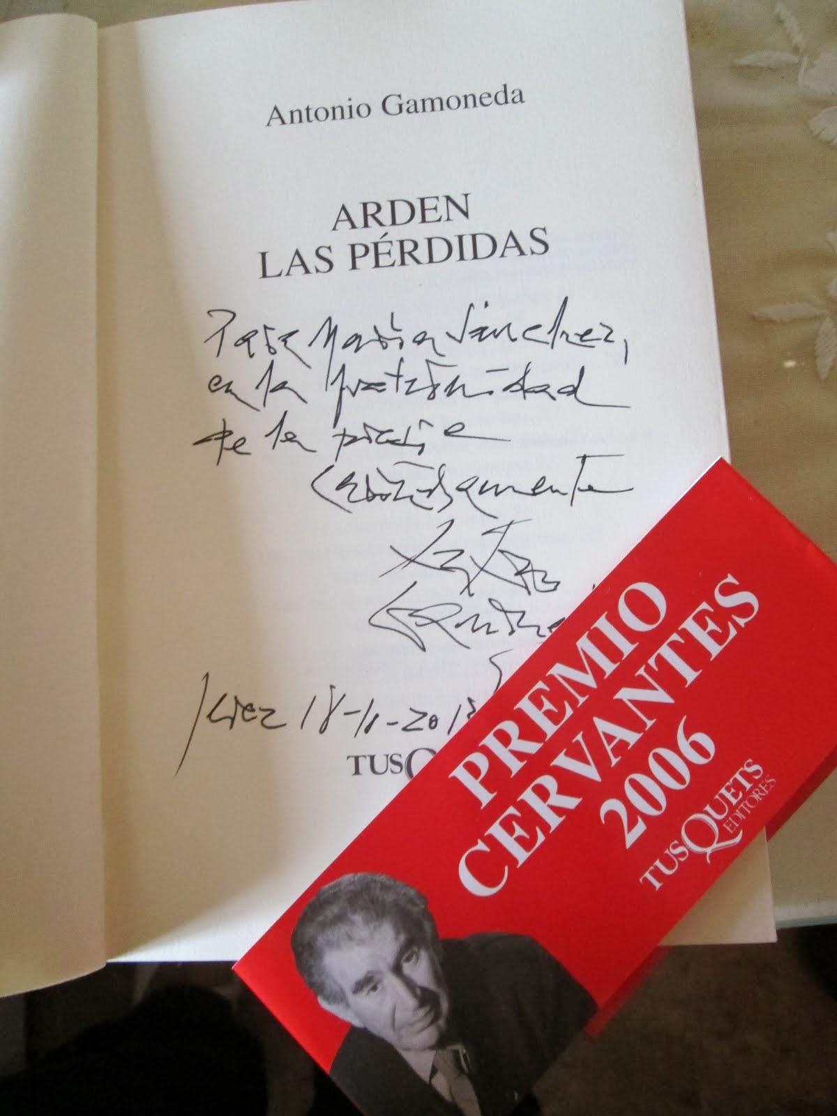 XV C. Caballero Bonald, Los premios Cervantes, 2013