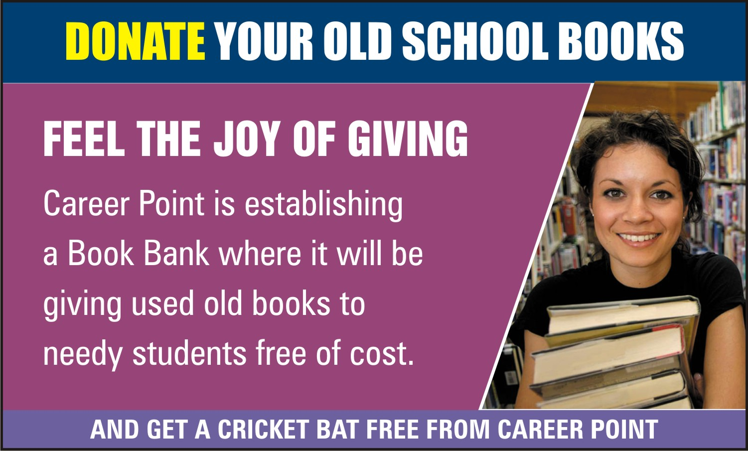 Donate your Old Books
