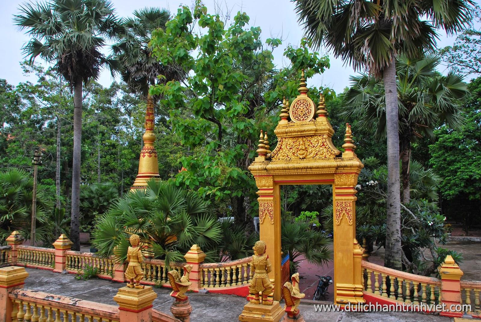 Viếng chùa Khleang ở Sóc Trăng 2014