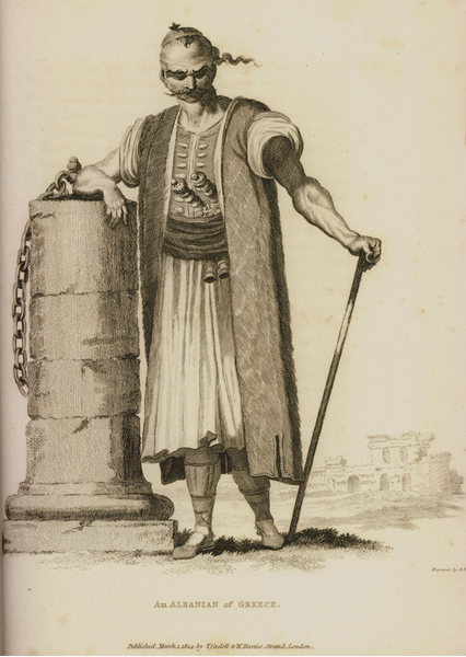 An Albanian of Greece(Peloponnese)