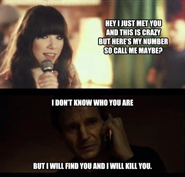 call me maybe taken