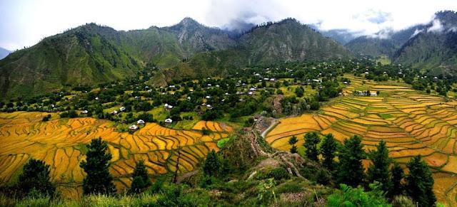 Gambar Pemandangan Lembah Kashmir Keren @ Digaleri.com