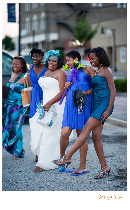 african american wedding photographer in marietta