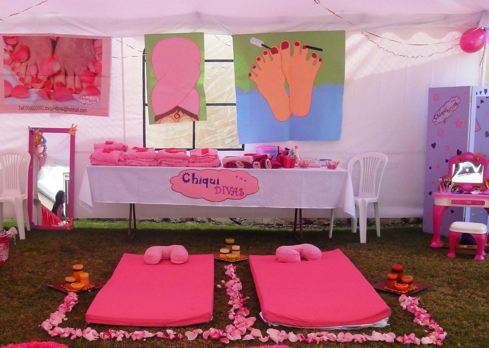 Accesorios De Baño Quito:Chiqui Divas también ofrece para las más pequeñas el servicio de