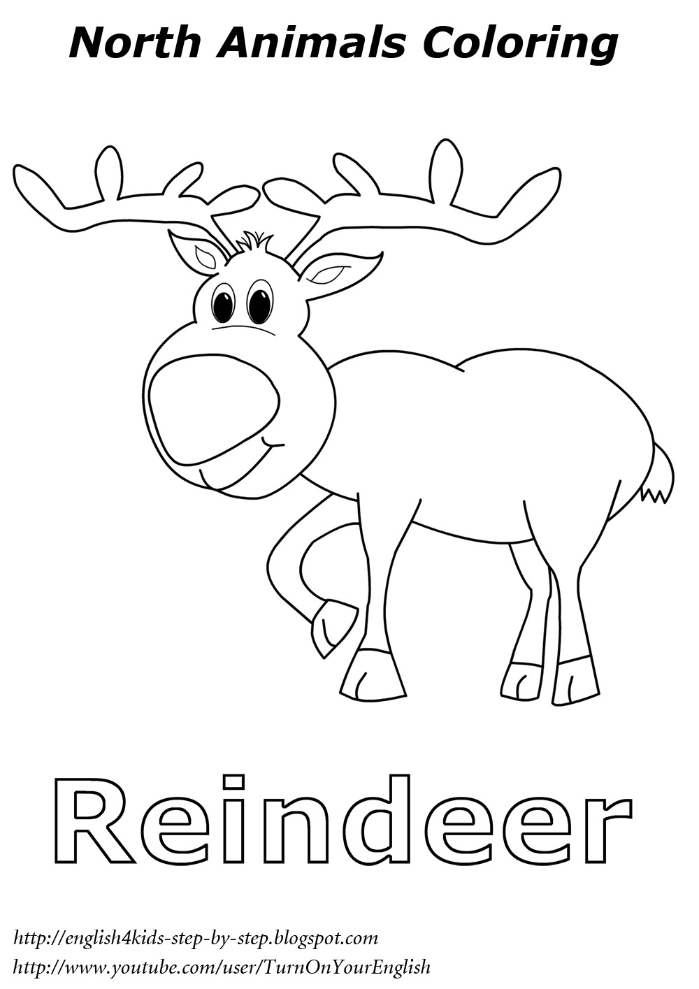coloring pages of arctic animals - photo#25