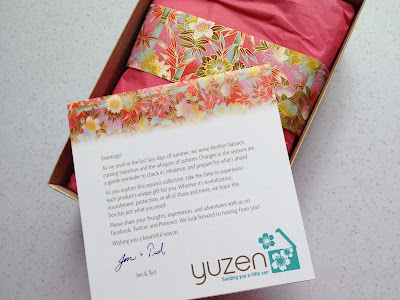 yuzen fall box review