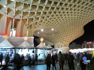 Sevilla - Alumbrado navideño 2014 - Plaza de la Encarnación