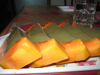 puding buah pepaya