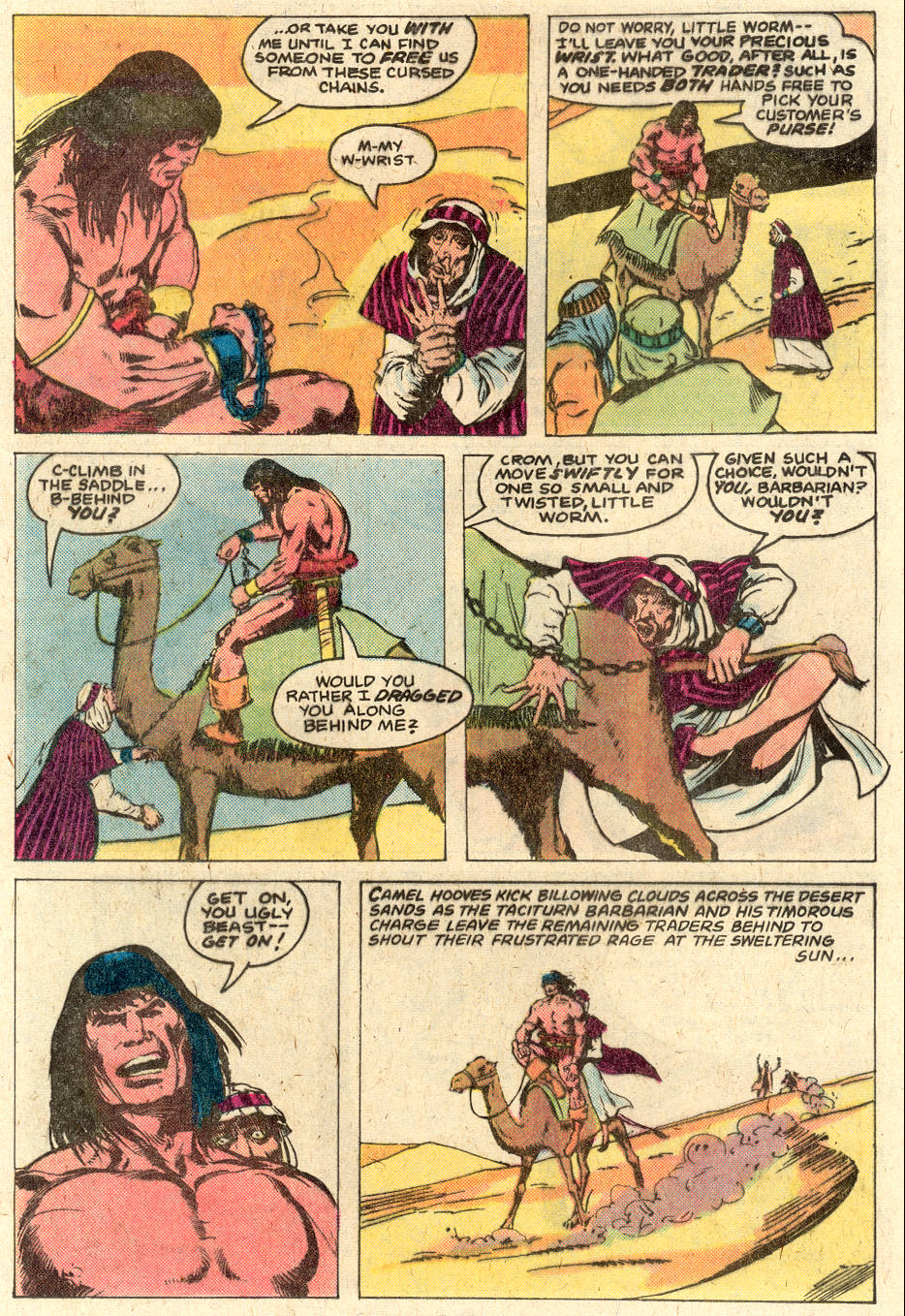 Conan the Barbarian (1970) Issue #116 #128 - English 9